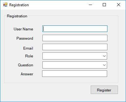 Advance Login System Registration